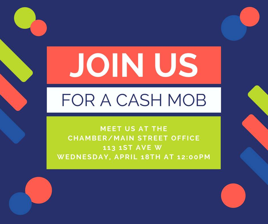Newton Main Street Cash Mob