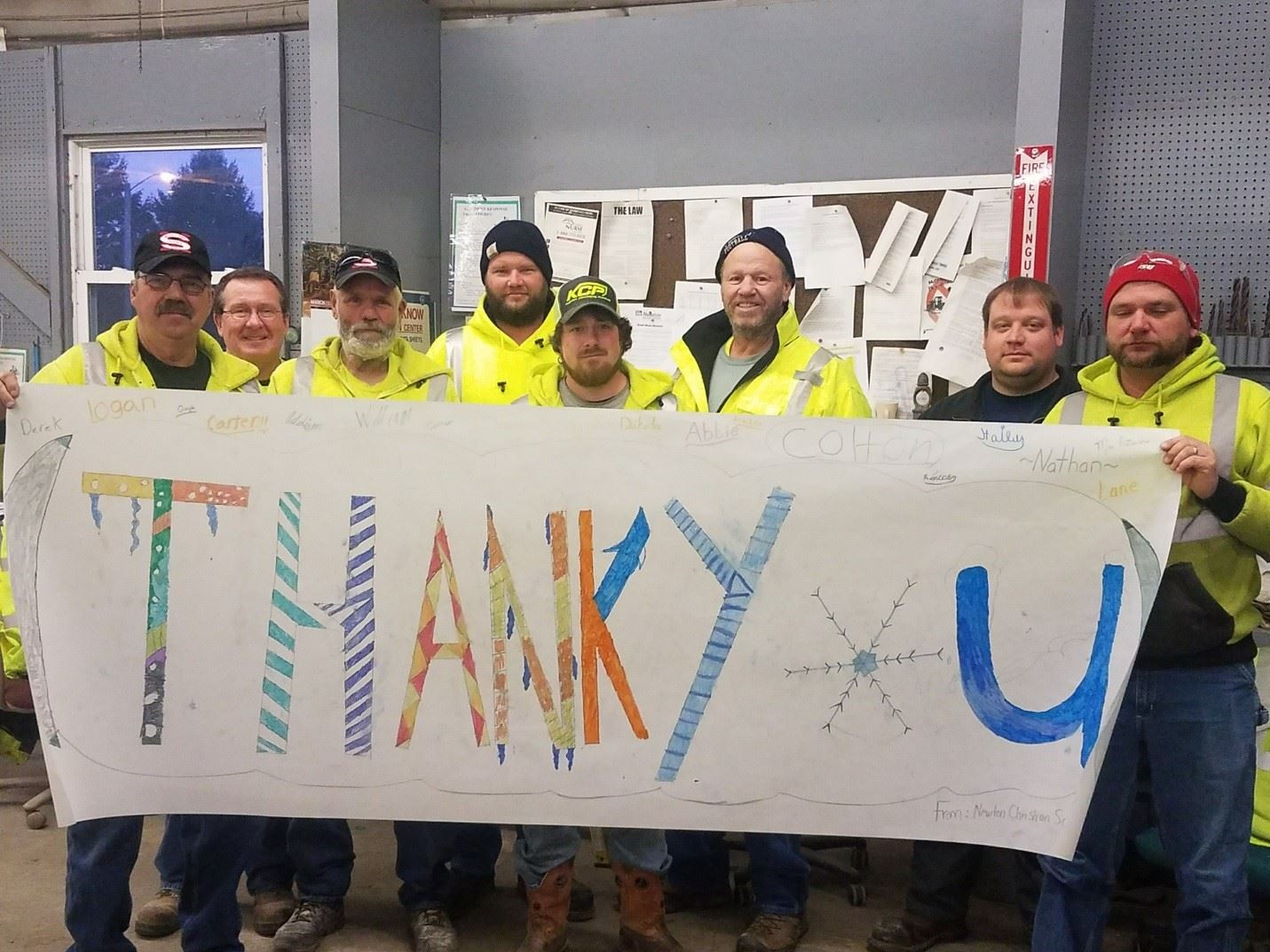 Public Works Operations Snow Plow Operator Appreciation