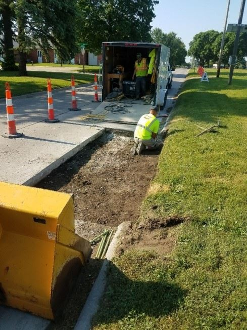 Public Works Operations / Streets makes Preparations for RAGBRAI