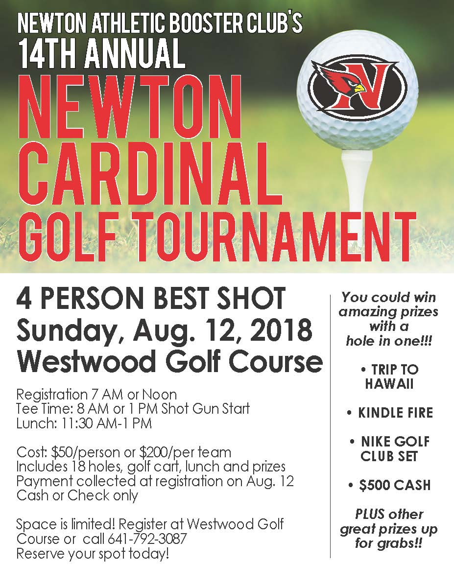 14th Annual Newton Cardinal Golf Tournament