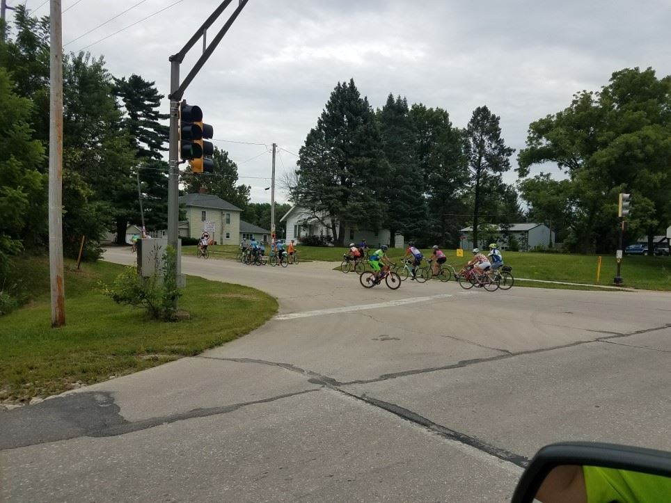 Streets Crews provide traffic control during RAGBRAI