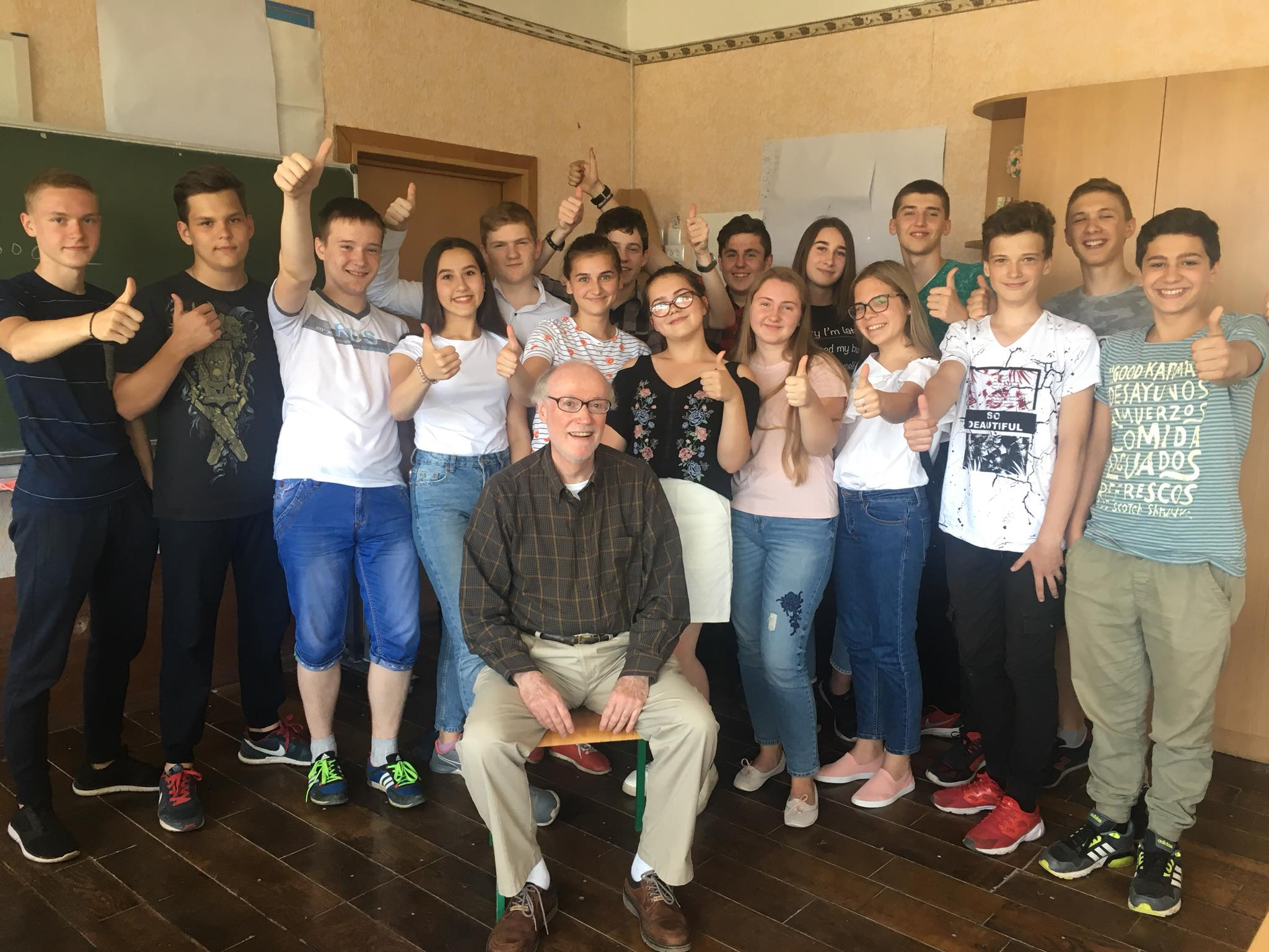 Lunch and Learn: Larry Hurto and teaching English in Ukraine