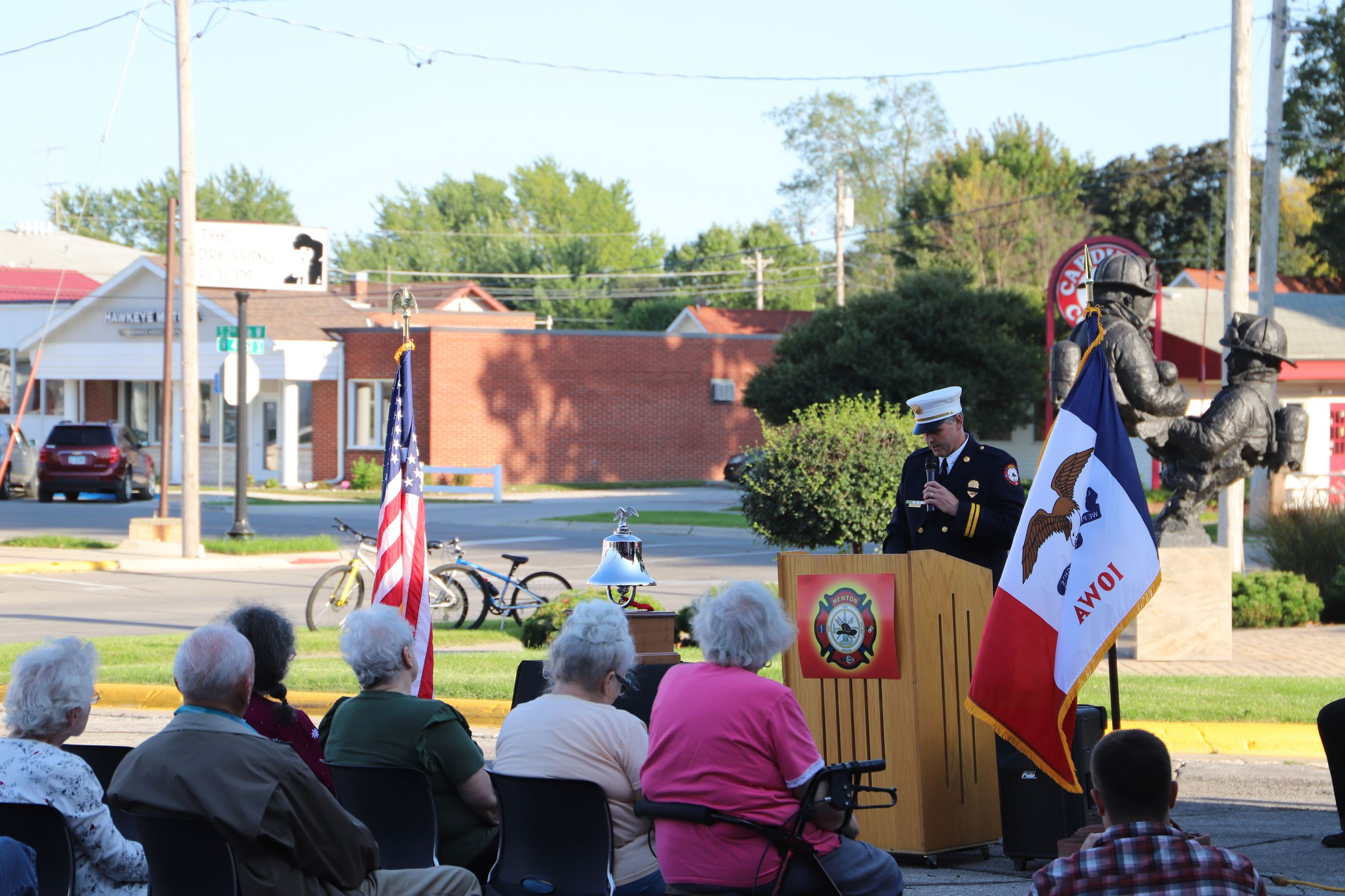 Fire Department Remembers 9/11