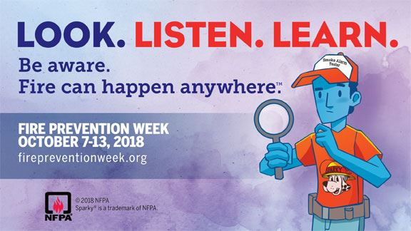 NFPA's Fire Prevention Week