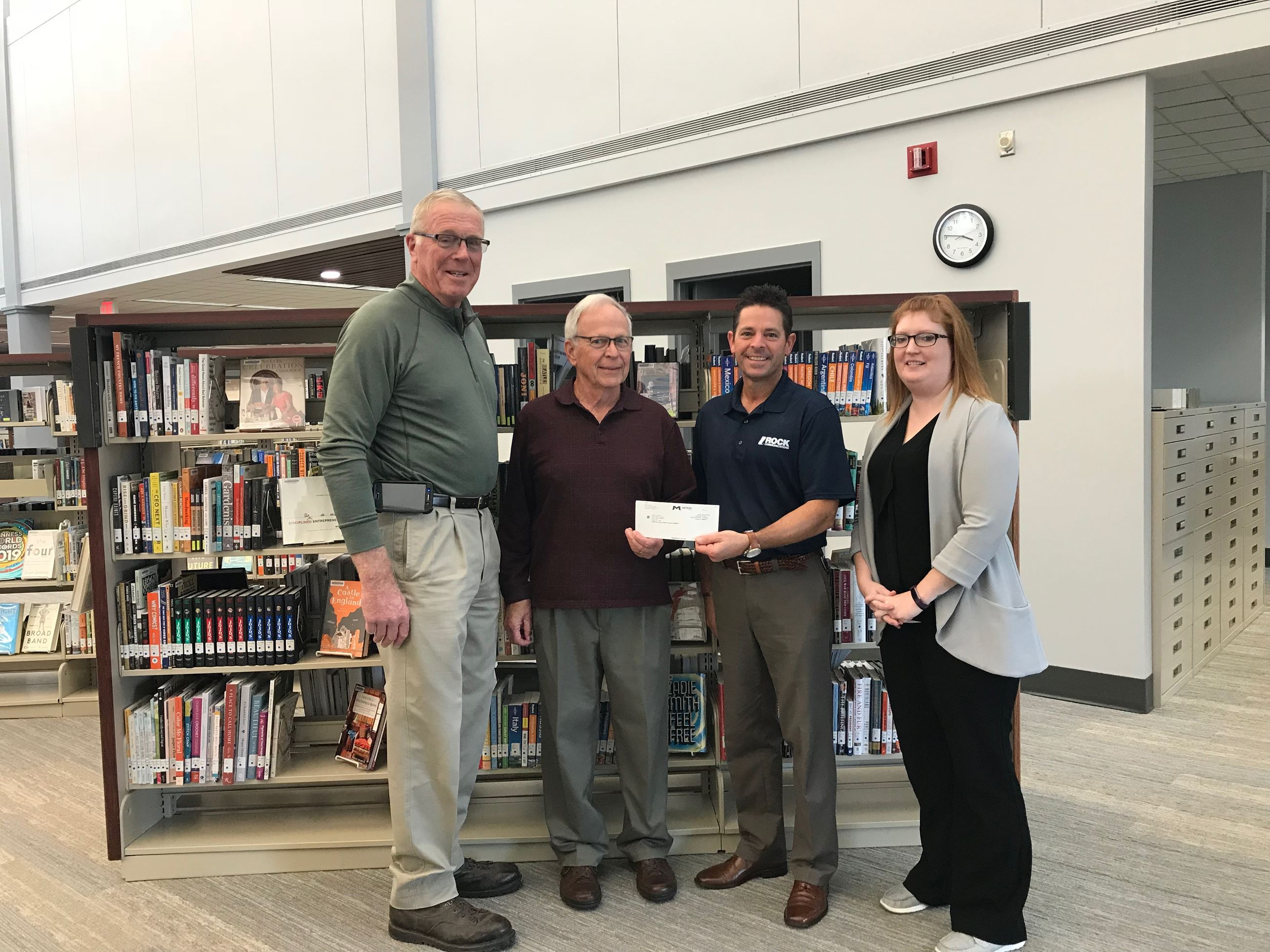 Library Foundation Receives Grant