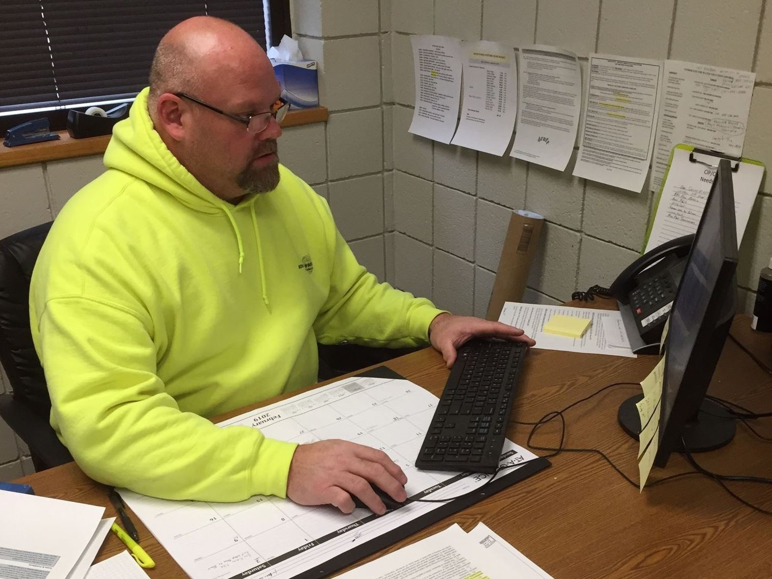 WPC Operations and Maintenance Supervisor, Brad Hansen
