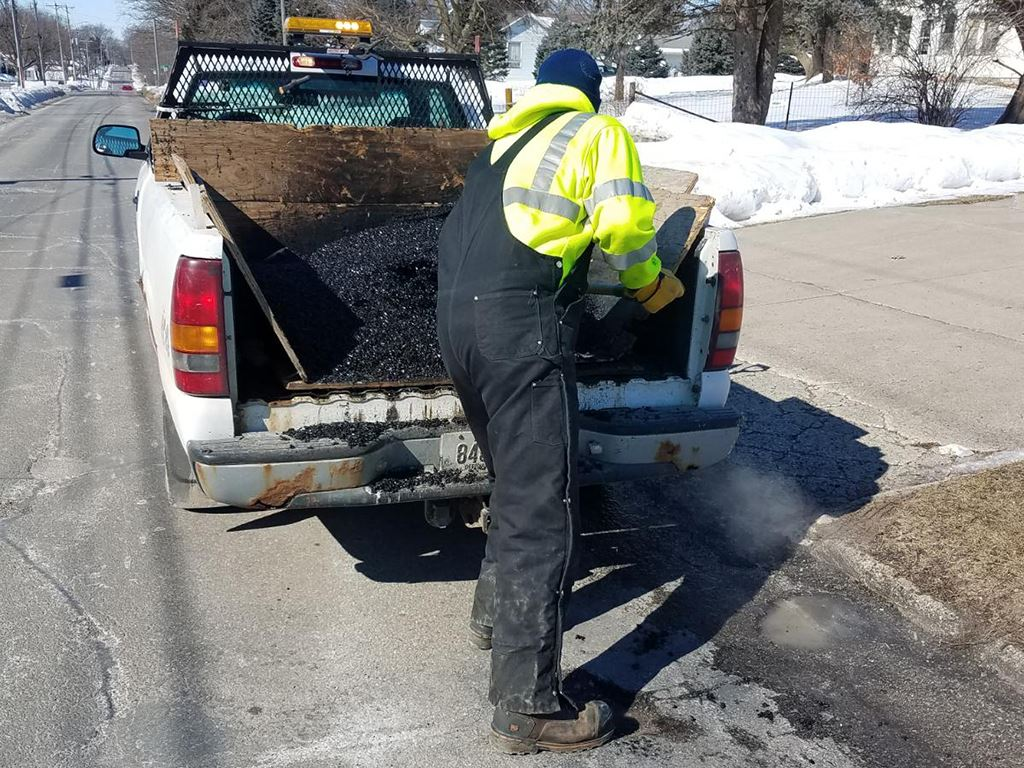 Street Maintenance - Potholes