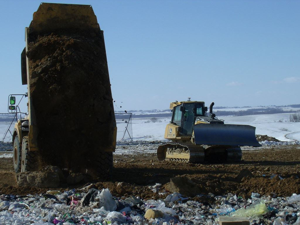 Landfill Cover Dirt