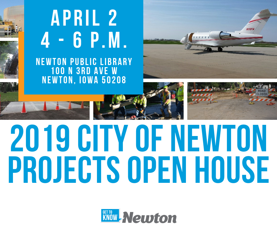 2019 City of Newton Projects Open House