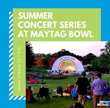 Summer Concert Series at Maytag Bowl
