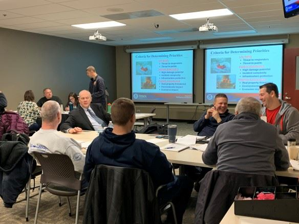 Fire Chief Attends Sports Event Risk Management Class