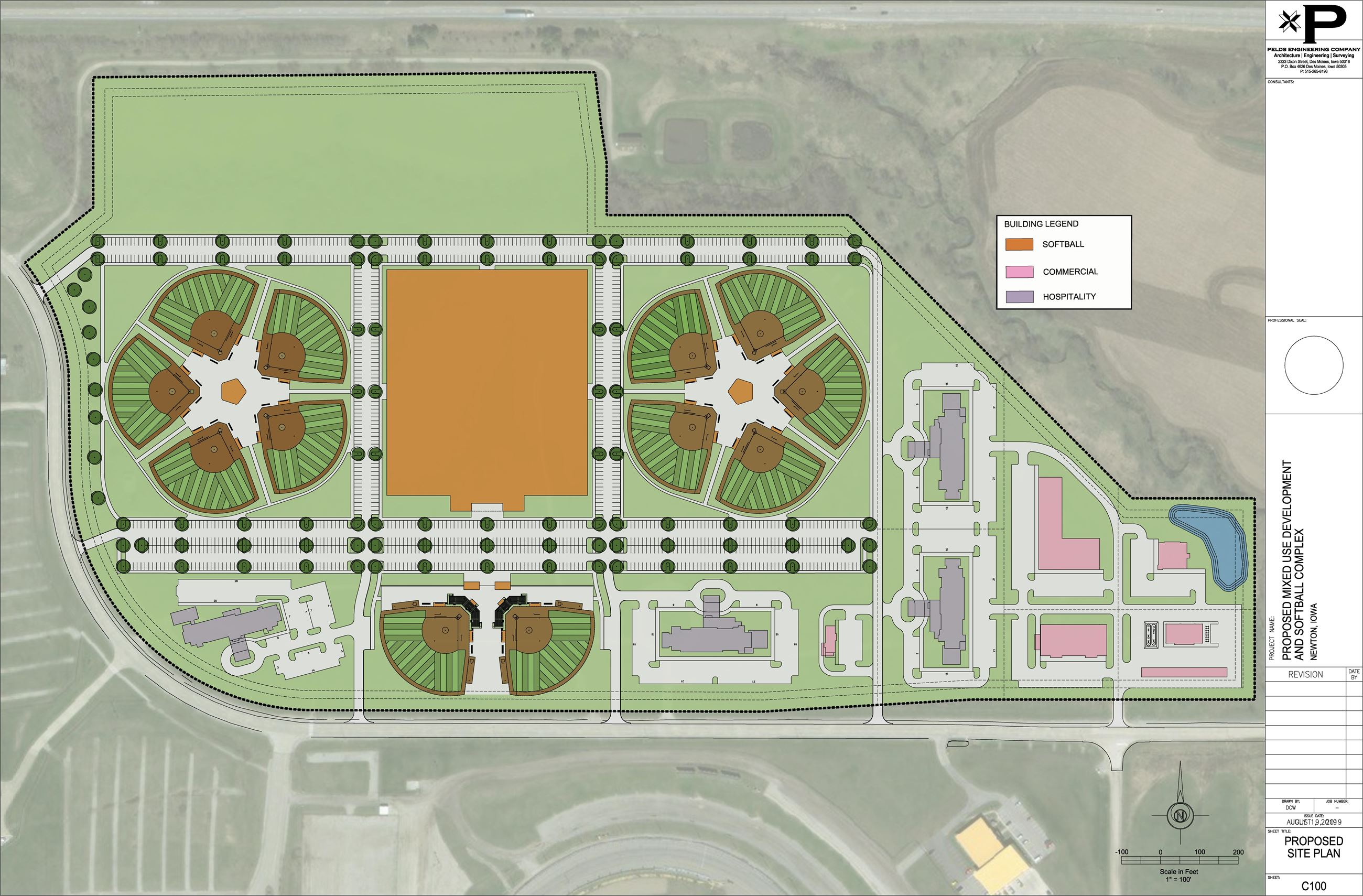 Project Fastpitch Siteplan