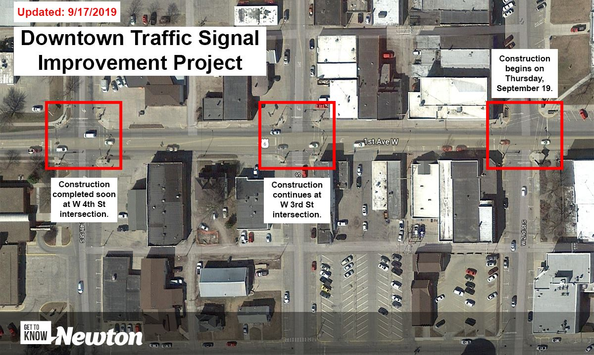 Downtown Traffic Signal Improvement Project