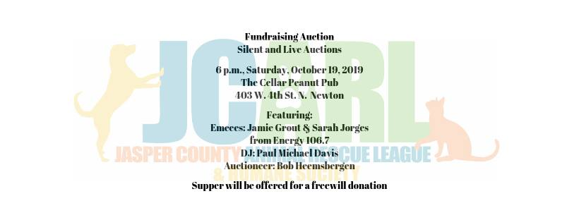 JCARL Fundraiser and Auction