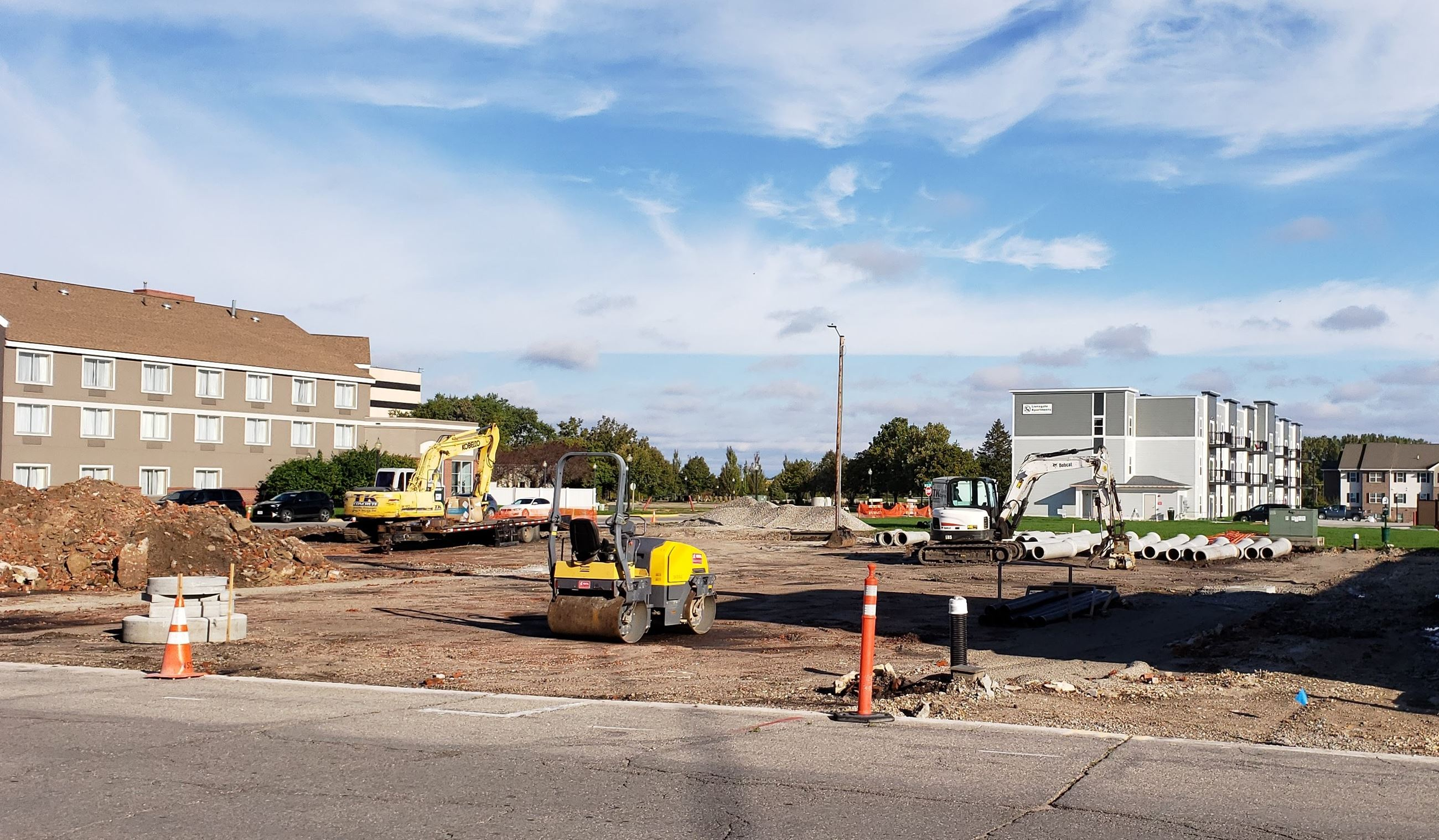 2019 Parking Lot Reconstruction Project