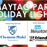 Maytag Park Holiday Lights