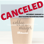 Canceled Coffee with the mayor