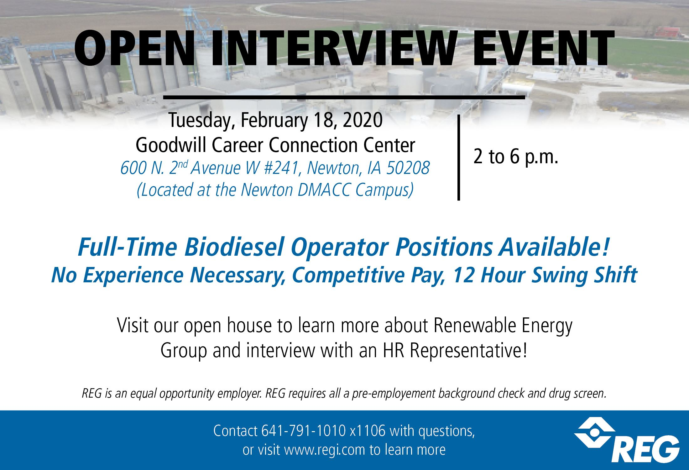 Newton Open House Interview Event