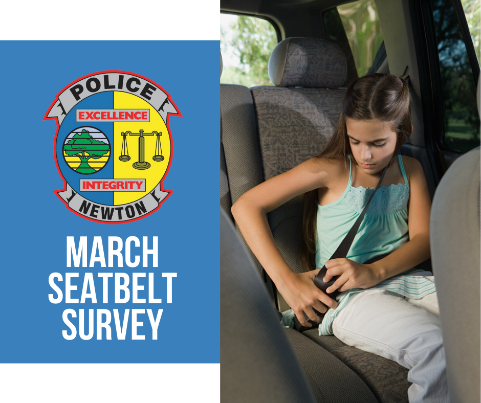 March Seatbelt Survey