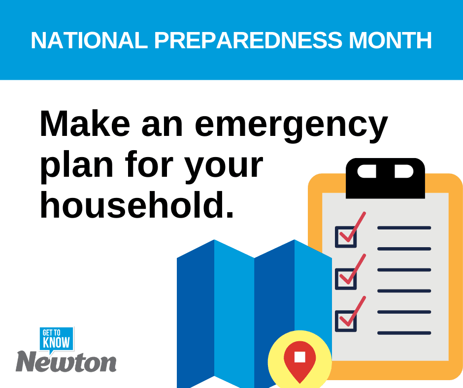 National Preparedness Month - Make a Plan