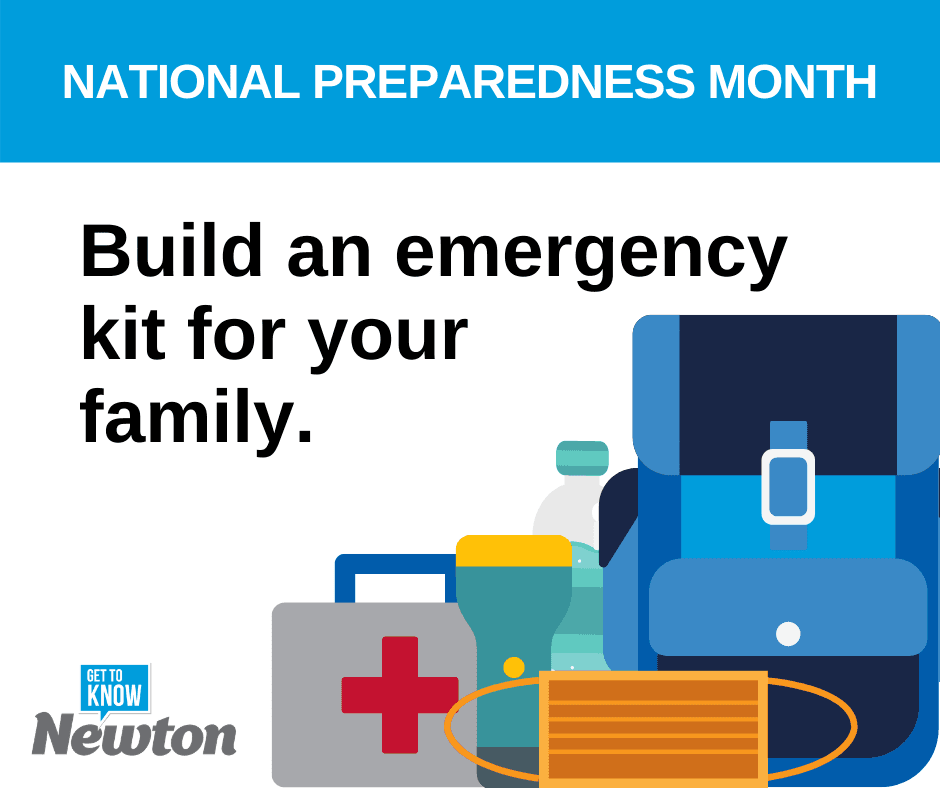 National Preparedness Month - Build an Emergency Kit