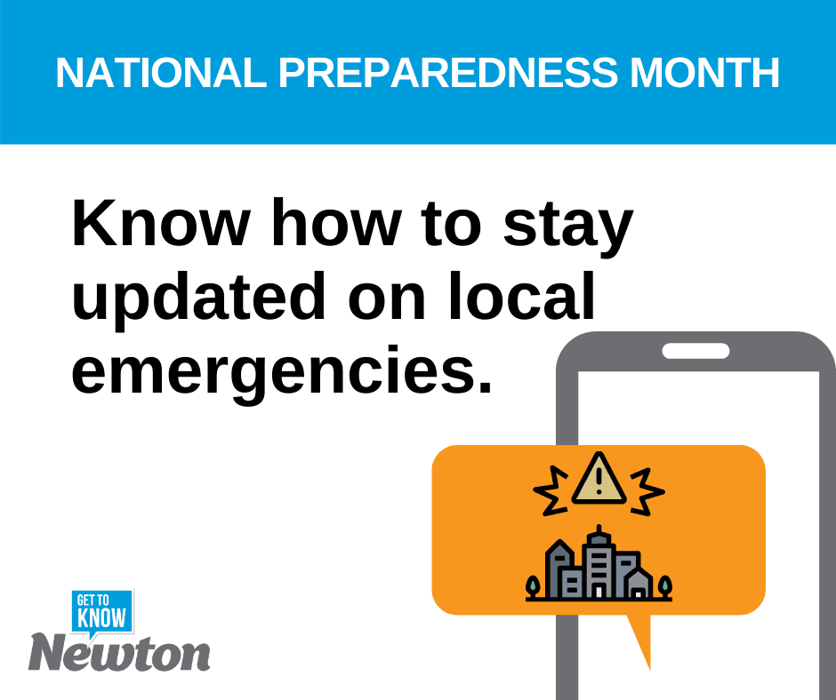 National Preparedness Month - Prepare for a Disaster