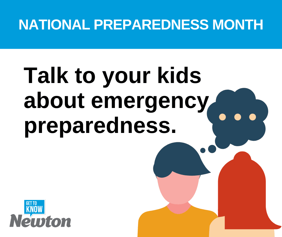National Preparedness Month - Prepare Your Kids