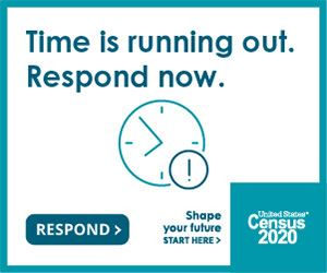 Time is running out to complete the 2020 Census. Respond now.