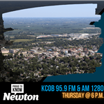 Graphic promoting 2021 Proud to Know Newton Radio Show