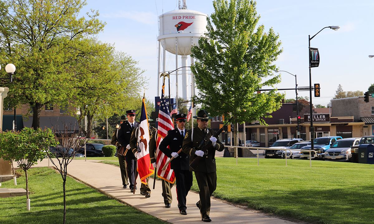 Newton Fire Department Honor Guard