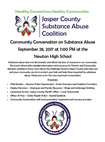 Community Conversation on Substance Abuse