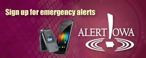 Sign up for Alert Iowa