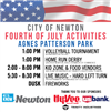 Fourth of July Schedule of Events