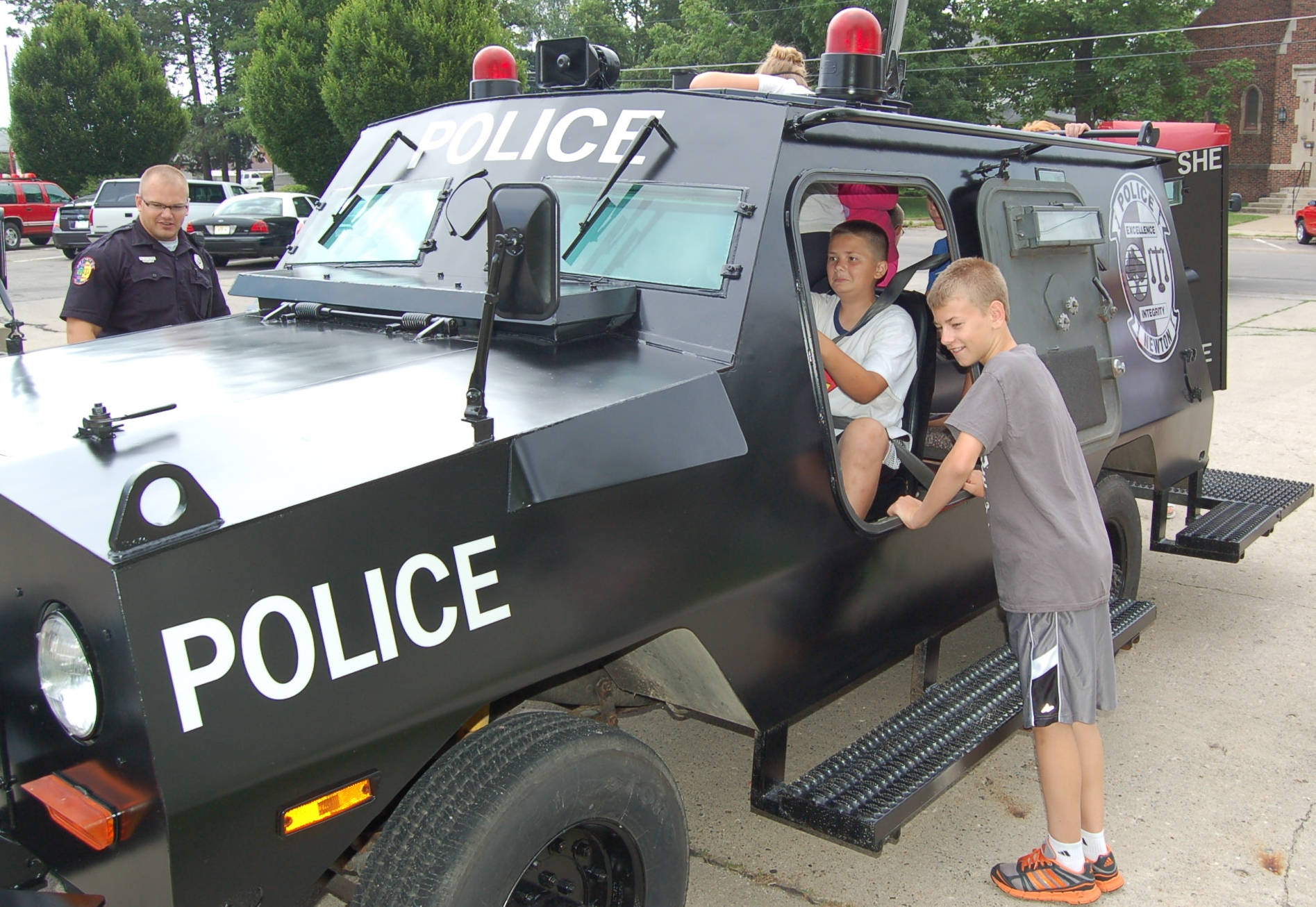 Summer Youth Police Academy