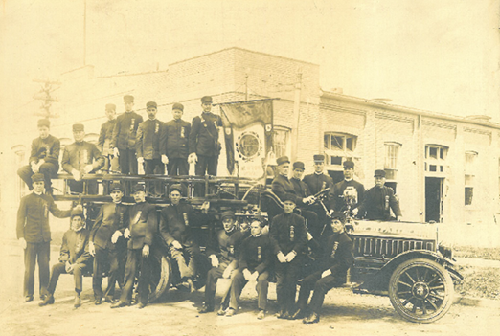 Newton Fire Department, 1914