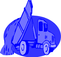 viewing clip art of dump truck