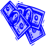 viewing clipart of money